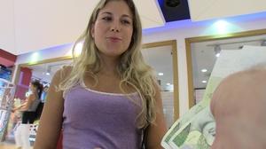 Horny blonde teen agreeing to get hardco - XXX Dessert - Picture 15