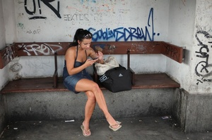 Cute tattooed teen gets her wet pussy ha - XXX Dessert - Picture 2