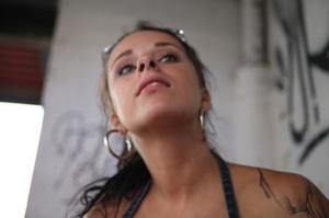Cute tattooed teen gets her wet pussy ha - XXX Dessert - Picture 4