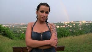 Cute tattooed teen gets her wet pussy ha - XXX Dessert - Picture 12