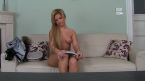 Naughty blonde beauty getting her tight  - XXX Dessert - Picture 3