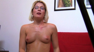 This horny glasses wearing milf enjoys h - XXX Dessert - Picture 19