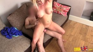 Randy blonde milf loves how he is satisf - XXX Dessert - Picture 15