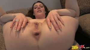 Foxy brunette with gorgoeusly formed ass - XXX Dessert - Picture 20