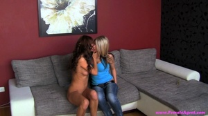 Two lusty lesbians having a wet time tog - XXX Dessert - Picture 20