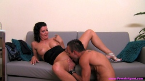 Black haired slut likes how he is fuckin - XXX Dessert - Picture 6