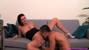 Black haired slut likes how he is fuckin - XXX Dessert - Picture 7