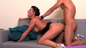 Black haired slut likes how he is fuckin - XXX Dessert - Picture 9
