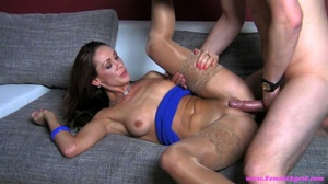 Horny brunette just wants to get hardcor - XXX Dessert - Picture 16