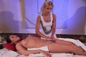 Two horny lesbians scissoring and finger - XXX Dessert - Picture 4