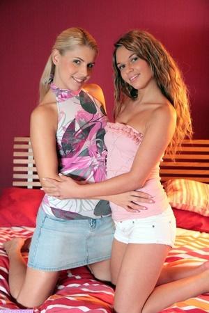 Two young lesbians enjoying their sensua - XXX Dessert - Picture 1