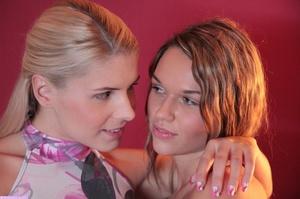 Two young lesbians enjoying their sensua - XXX Dessert - Picture 2