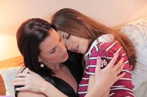 Two horny lesbian with gorgeously formed - XXX Dessert - Picture 2