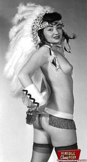 Naked erotic babes vintage