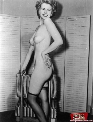 Hot Nude Apron bondage tied up