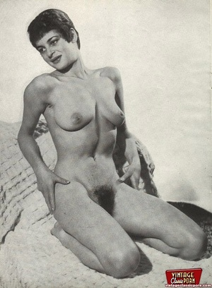 Vintage chicks with hairy pussies posing - XXX Dessert - Picture 5
