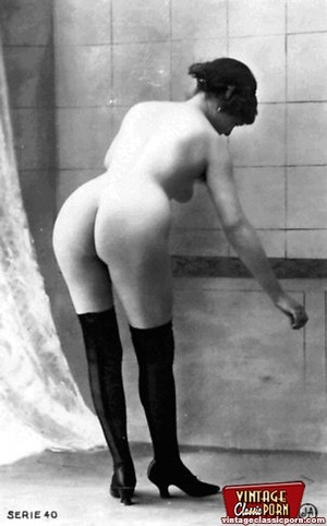Some real vintage nude anonymous ladies  - XXX Dessert - Picture 6