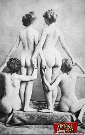 Some real vintage nude anonymous ladies  - XXX Dessert - Picture 7