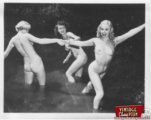 Some real vintage hairy outdoor girls po - XXX Dessert - Picture 12