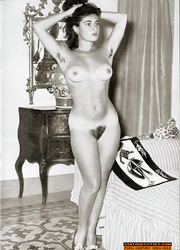 all natural hairy retro