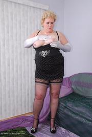 granny high heels fanny