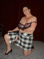 mature lingerie kinky carol