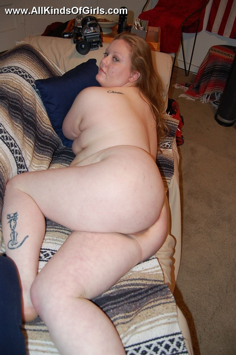 Pleasantly plump nude