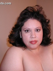 Slutty fat latina wife gets pounded from behind after - Picture 1