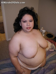 Slutty fat latina wife gets pounded from behind after - Picture 3