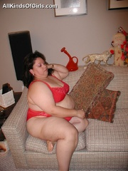 Slutty fat latina wife gets pounded from behind after - Picture 6