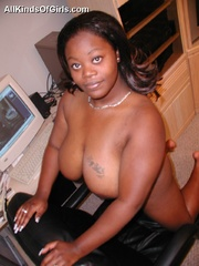 busty fat ebony housewife