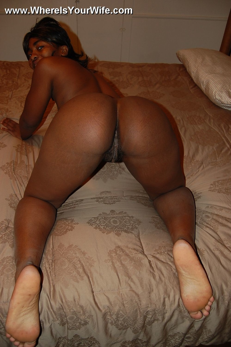 Perhaps Big booty black girl nude selfie