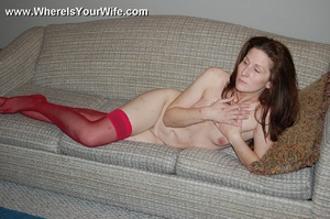 Mature redhead milf Pamela exposing her  - XXX Dessert - Picture 11