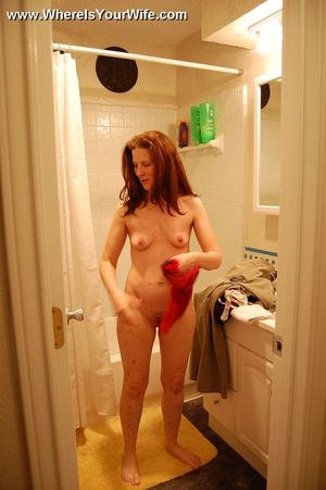 Mature redhead milf Pamela exposing her  - XXX Dessert - Picture 12