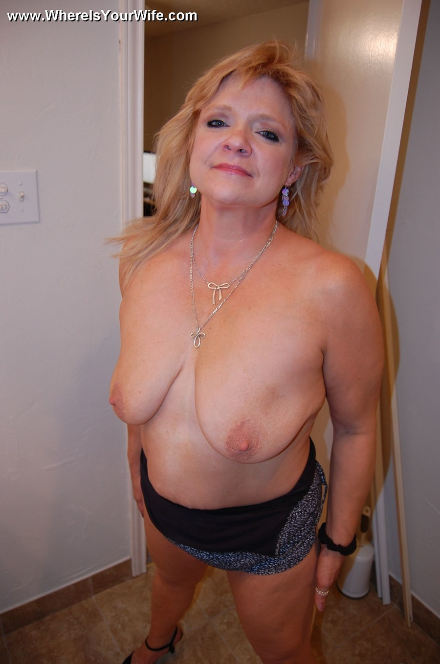 Blonde Mature Slut Wife