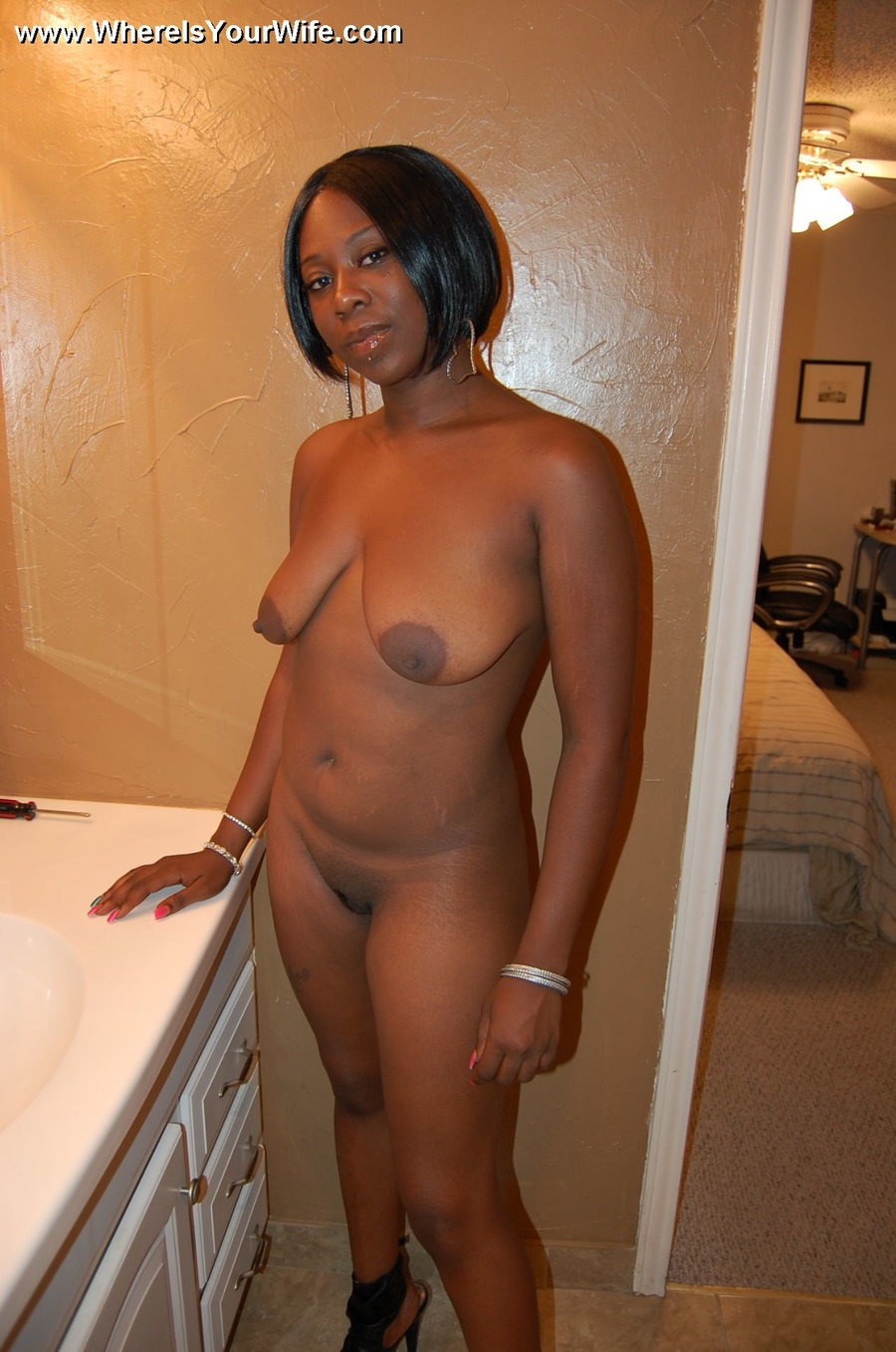 You Cant Stand This Busty Ebony Wife With - Xxx Dessert -8521