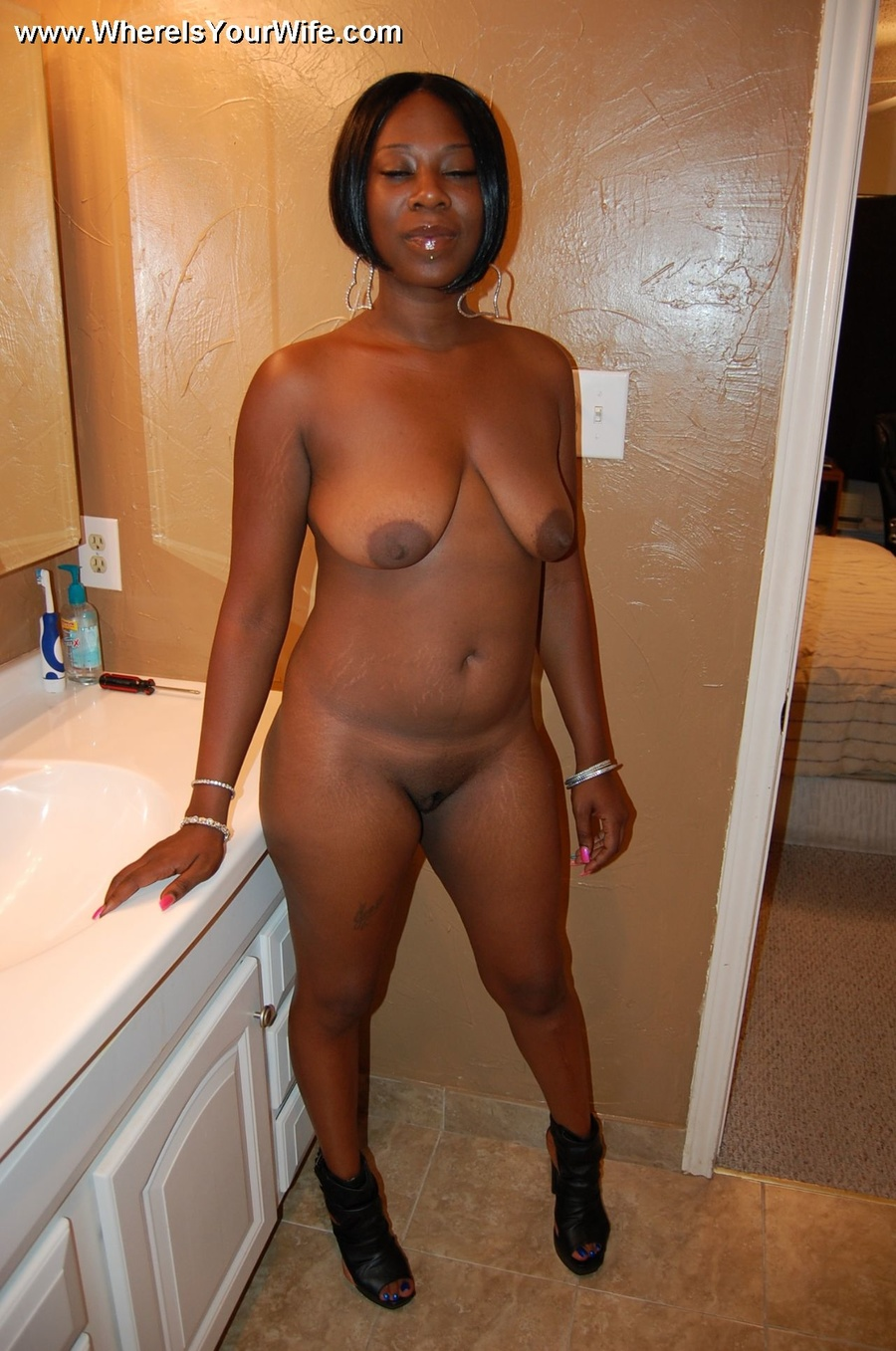 You Cant Stand This Busty Ebony Wife With - Xxx Dessert - Picture 4-4011