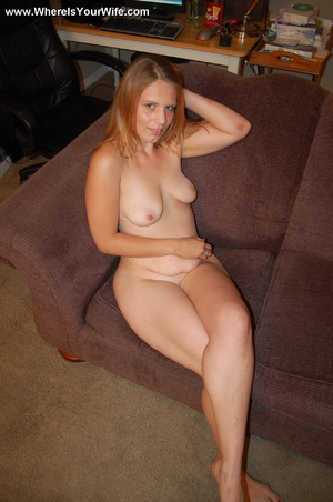 Young big booty blonde milf spreaded wid - XXX Dessert - Picture 6