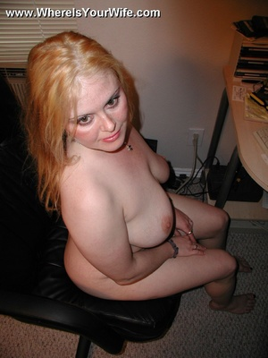 Blonde chubby housewife Layla with big b - XXX Dessert - Picture 4