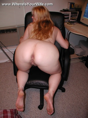 Blonde chubby housewife Layla with big b - XXX Dessert - Picture 6