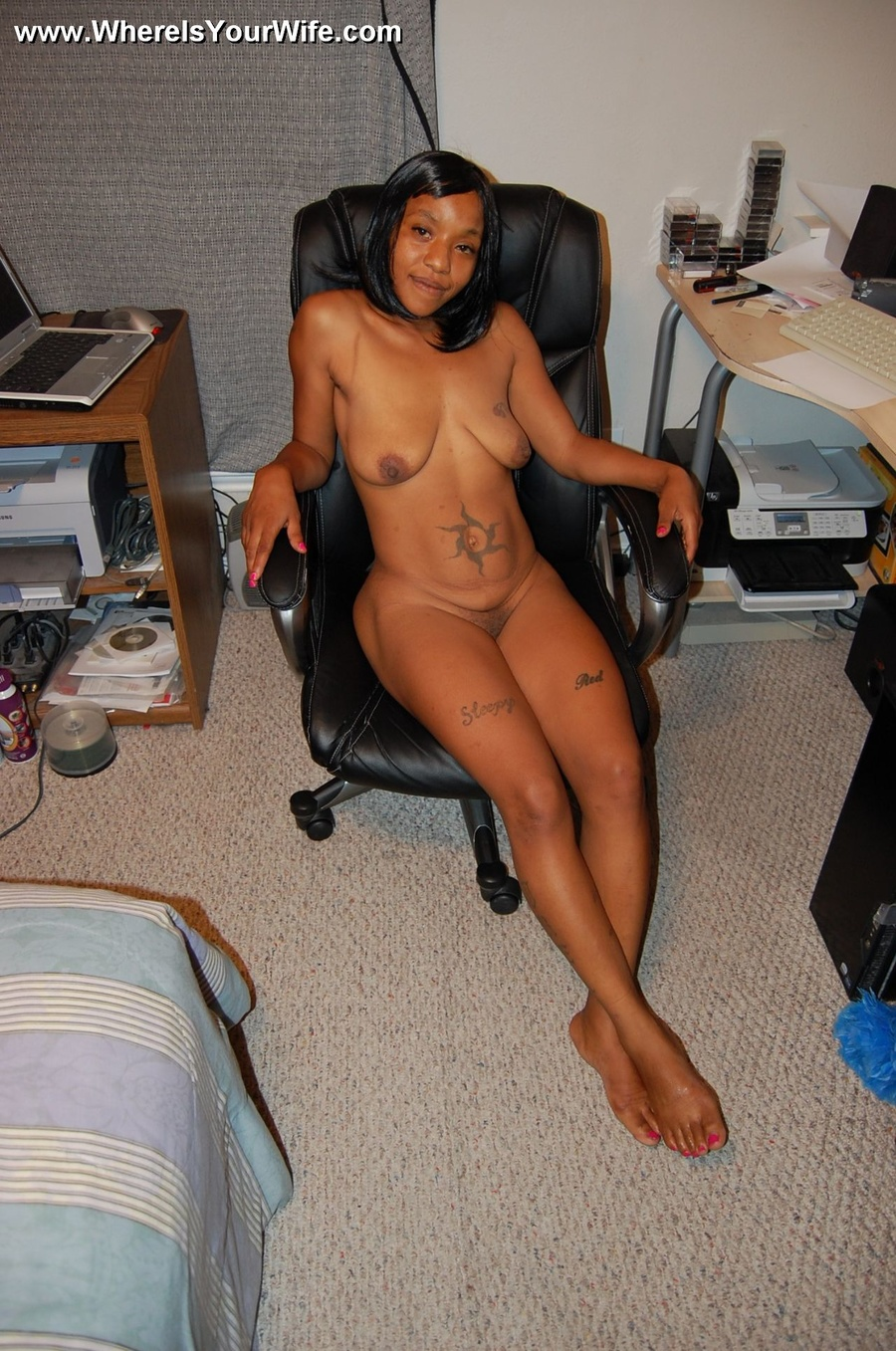 Hot black milf public