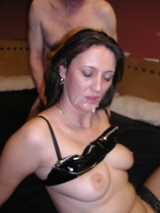 milf cum-on-tits juicy from