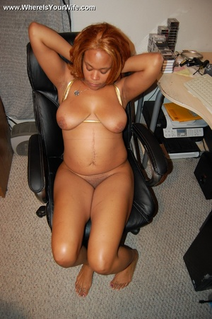 Big butt ebony wife with epic boobs expo - XXX Dessert - Picture 10
