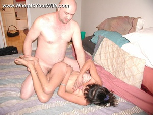 Little Mexican grandma fucking in bed wi - XXX Dessert - Picture 12