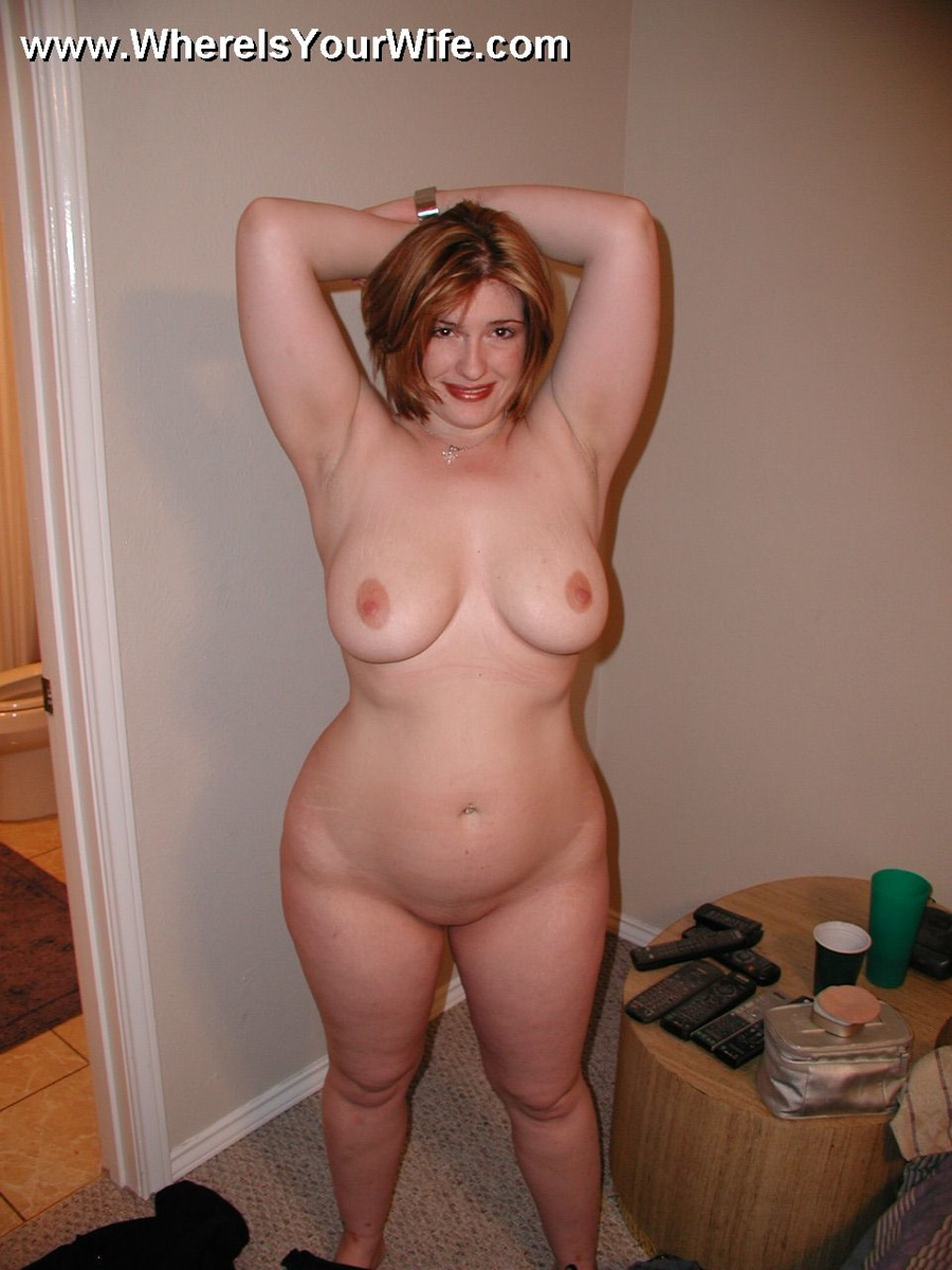 Chubby housewife nude