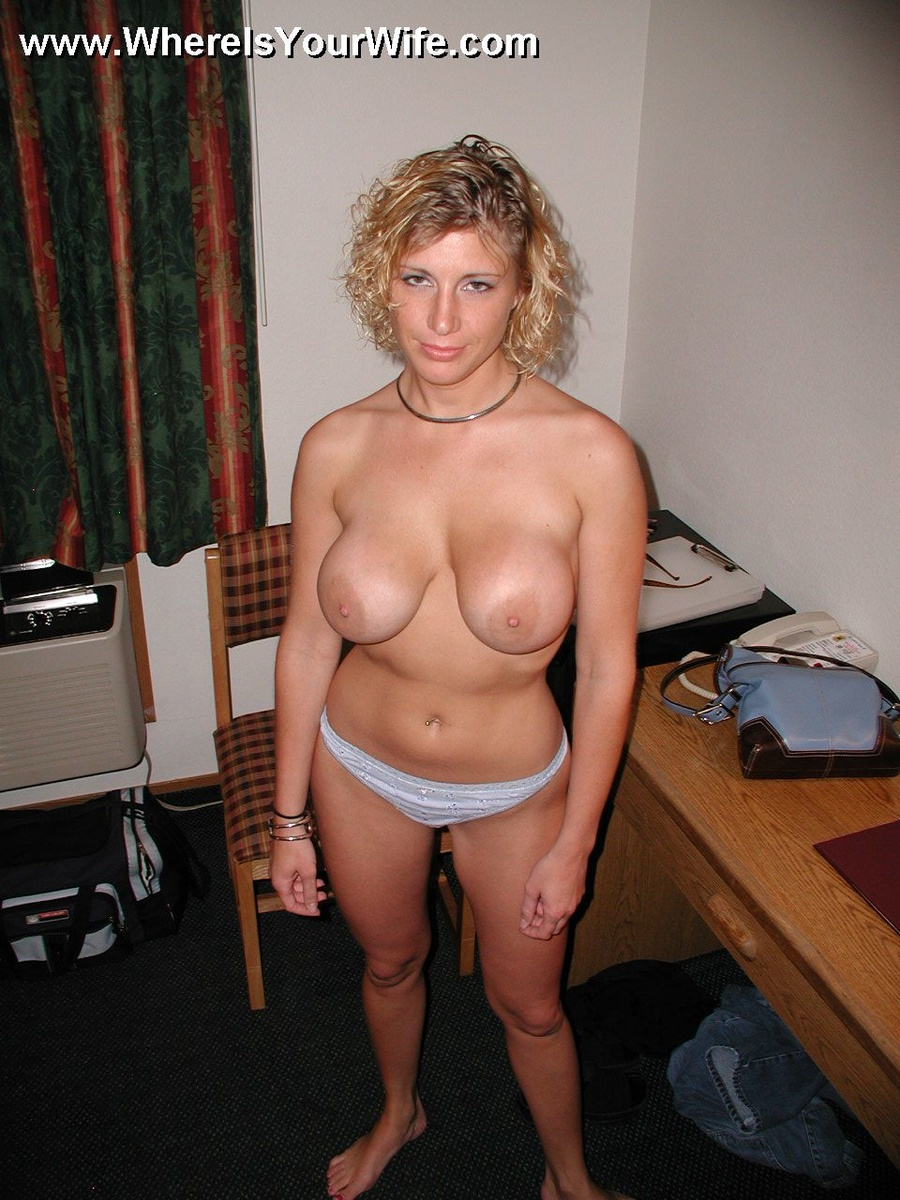 Wife sexy amateur blonde