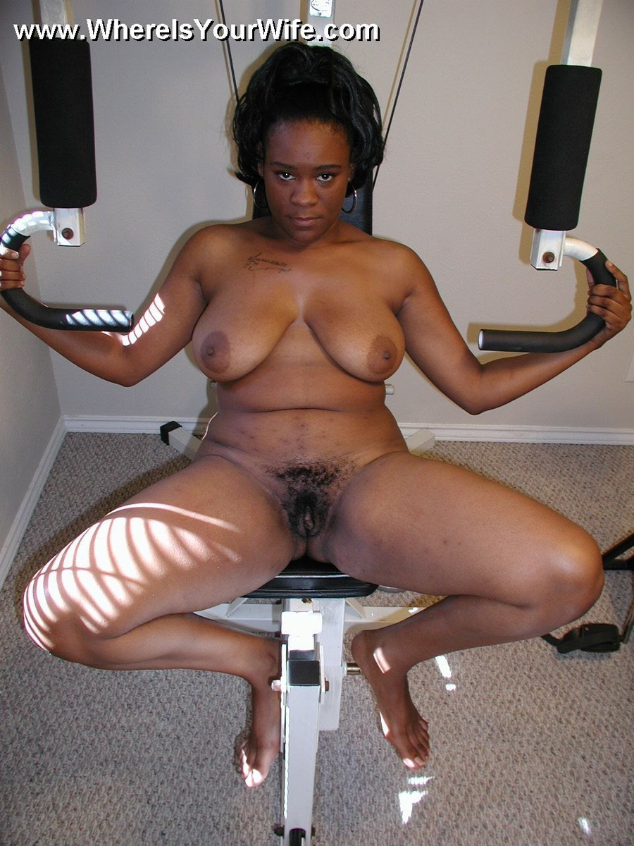 Ebony cut Nude sexy