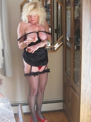 mature stockings ruth from