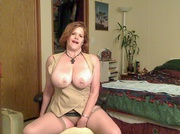 curvy stockings misha milf