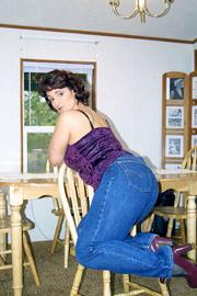 big tits pantyhose reba